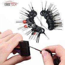 Auto Terminal Removal Tool Auto Plug Repair Tool Connector Puller Release Pin Extractor Kit Met Opbergtas Auto Plug Reparatie tool
