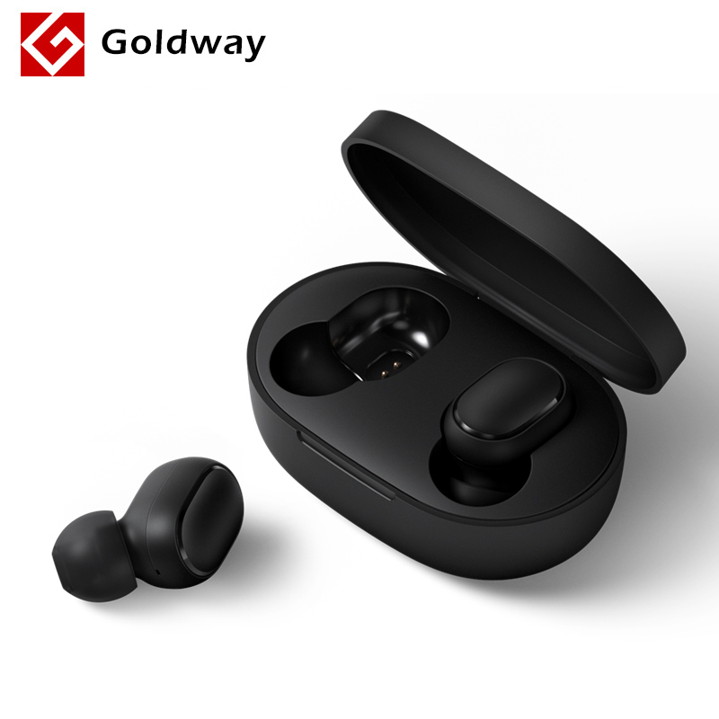 Xiaomi Redmi AirDots Wireless Bluetooth 5.0 Charging Earphone Mi Ture Wireless Earbuds In Ear stereo bass Earphones AI Control|Phone Earphones & Headphones| |  - AliExpress