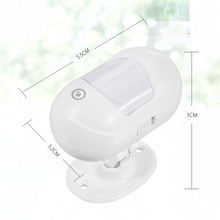 DIGOO DG-ZXP21 Mini 433MHZ Wireless Infrared Detection PIR Sensor 360 Rotatable Compatible with HOSA HAMA Security Alarm System