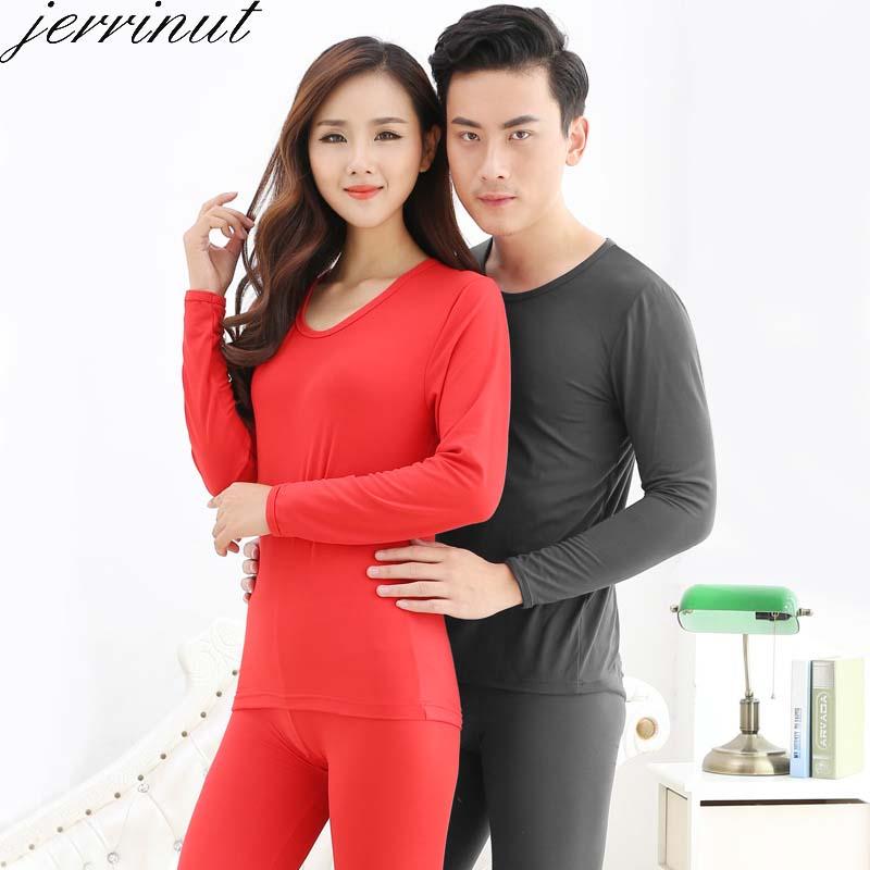 Jerrinut Women's/men's Thermal Underwear Long Johns Winter Underwear Set For Male/Female Warm Clothes Thermal Suit L XL XXL XXXL
