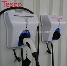 цена на 22 kw ac charging pile type 2 ev charger evse wallbox 3 phase 380v evse