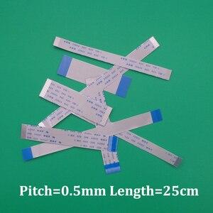2pcs FFC/FPC Flat Flex Cable 13Pin 23Pin 33Pin 43Pin Same Side 0.5mm Pitch AWM VW-1 20624 80C 60V Length 25cm(China)