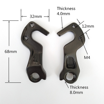 цена на 1pc Bicycle Rear Derailleur Hanger for CUBE 10149 aka 149 CUBE LONG Attention 2015 LTD Race Access WLS LTD SL 29 Attention SL