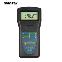 Laser type DT 2857 Digital Tachometer Photo Contact rpm DT2857 High Resolution