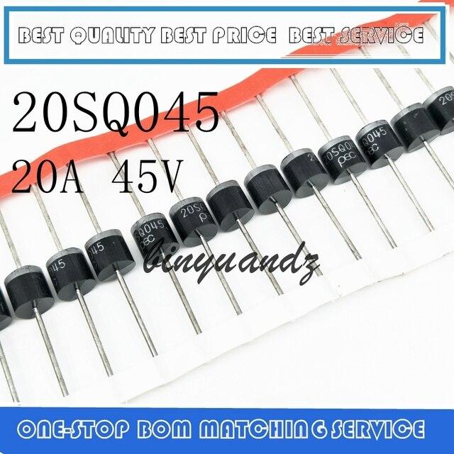 送料無料 100 ピース/ロット 20SQ045 20A 45V R 6 PEC 新オリジナル高品質ショットキー · ダイオード