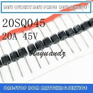 Image 1 - 무료 배송 100 개/몫 20sq045 20a 45 v R 6 pec 새로운 오리지널 고품질 쇼트 키 다이오드
