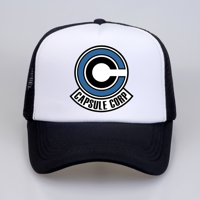 Capsule Corp. Dad Hat Dragon Ball Anime Cotton Print Snapback Hats Unisex Baseball Caps Men Women Holiday Hats Gorras Hombre