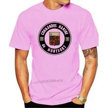 Commandos Marine - De Montfort Teld Appui Destruction T Shirt Cos 2020 Funny Cotton Casual Top Tee Printed Tops Tee