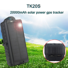 GPS TK20S solar sun powered gps tracker with Offline logger GPS Locator for vehicle container Magnetic Solar Panel GPS Tracker cheap YANHUI 160*64*49mm Under 2 Inches REFER TO SPEC Waterproof North America 30 Hours Up