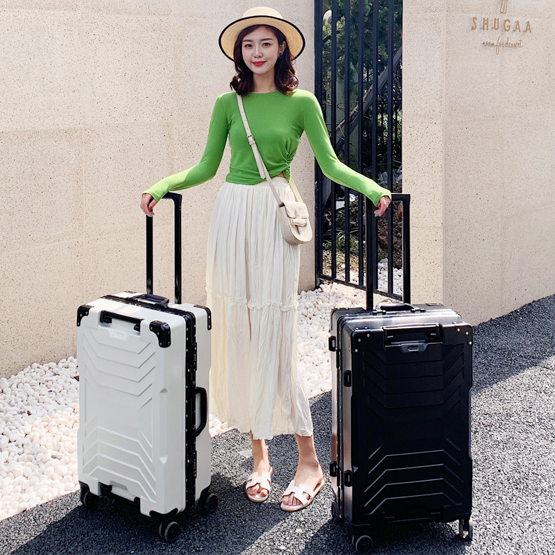 "20""22""24'26""29 inch suitcase bag,universal wheel carry on,ABS+PC luggage,zipper& aluminium frame travel case,Trip trolley"
