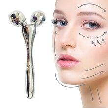 3D Roller Massage Gezicht Lift Facial Massager Instrument Schoonheid Rimpel Verwijderen Huidverstrakking Full Body Vormgeven Ontspanning Gereedschap