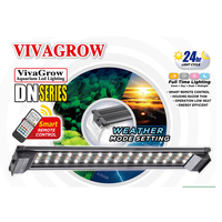 ODYSSEA VIVAGROW DN50 DayNight RGB LED Aquarium Lighting Fixture for Freshwater Plants Grow Light 24/7 Remote Automatio