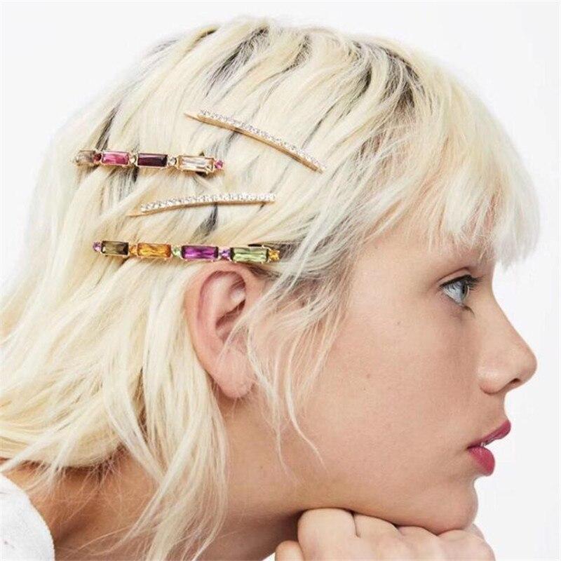 Barrette cristal ananas strass pince à cheveux cheveux corde pince à cheveux épingle à cheveux