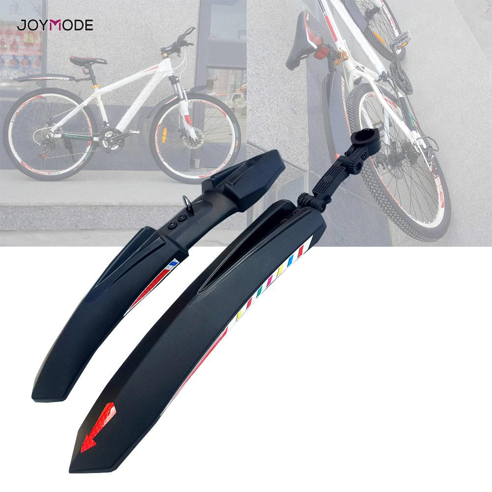 2pcs Mountain Bike Mud Guard Front Rear Bike Tool Cycling Bicycle Fenders Wings Mud Guard Accessories Durable Universal