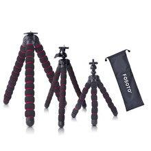 fosoto Octopus Tripods Stand Spider Flexible Mobile Mini Tripod Gorillapod For iPhone GoPro Canon Nikon Sony Camera Smartphone