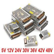 AC DC 5V 12V zasilacz 24 V 48V Fonte 500W transformatory 220V do 5 12 24 V zasilacz 5V 12V 24 V SMPS Mean well