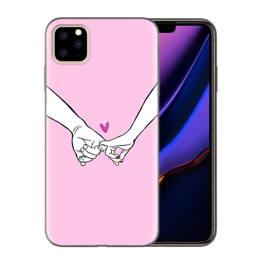 Силиконовый чехол для телефона, чехол для iphone XR XS Max X 7 8 6 6S Plus 11 11Pro Max 5 5S 5C SE 7Plus 8Pl Best Friends BFF, подходящий чехол