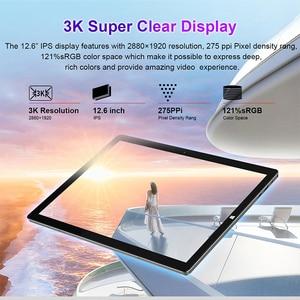 """Image 2 - Teclast X6 Pro 12.6 """"8GB RAM 256GB SSD dizüstü FULL HD 2880x1920 Intel Core M3 windows 10 2 in 1 Tablet PC"""