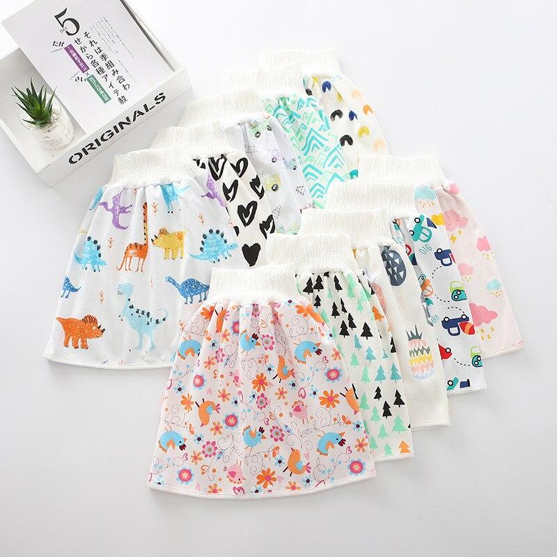 Baby Bedwetting Pants Children Anti-wetting Bed Quit Artifact Infant Children Diaper Leakproof Washable Cotton Waterproof Mattre