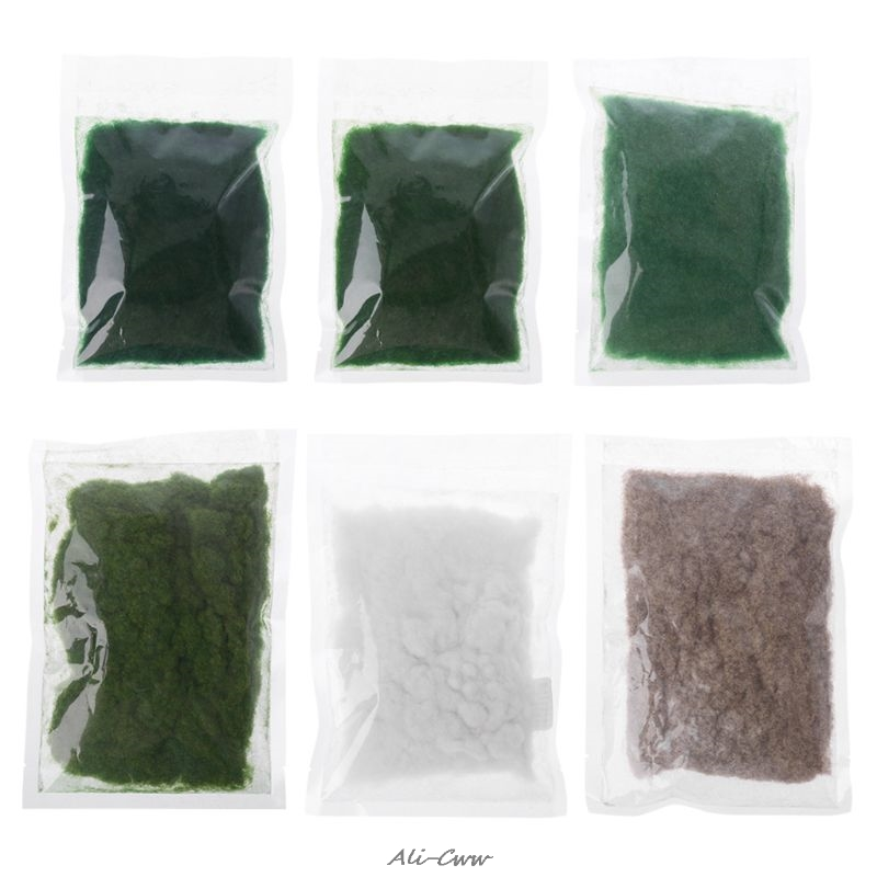 Artificial Grass Powder Micro Fairy Garden Landscape Decor DIY Accessories 1Bag(30g)