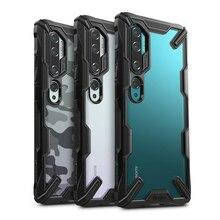Ringke fusion x xiao mi cc9 pro 케이스 용 투명 하드 pc 뒷면 소프트 tpu 프레임 mi note 10 (note 10 pro) 커버 용