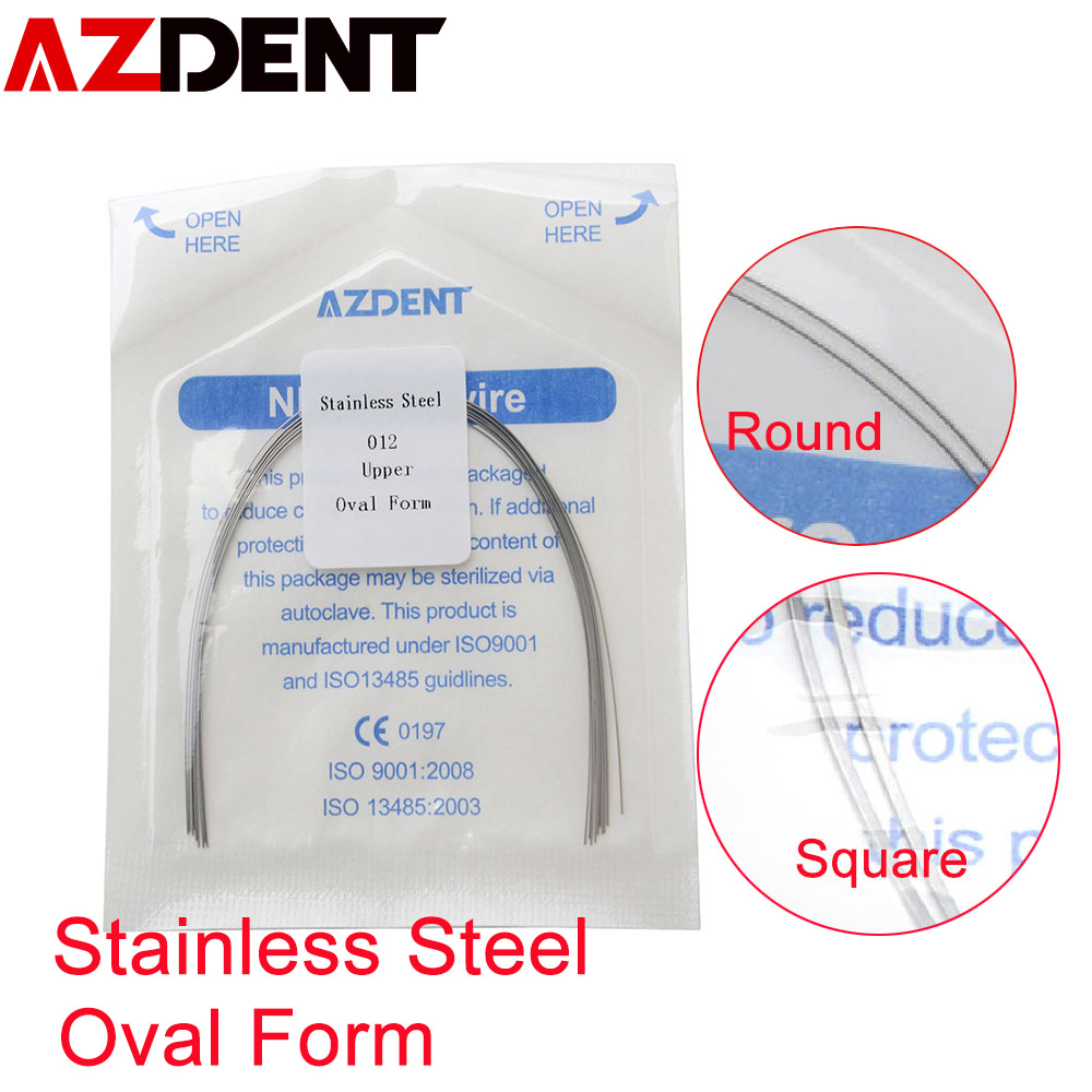 Stainless Steel Round Wire / Square Wire   Oval Form