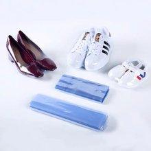100pcs Shoe Shrink Wrap Bags Sneaker Shoes Cover Waterproof Heat Seal Protector Dustproof PVC Shrink Film Home Gift Storage Bag