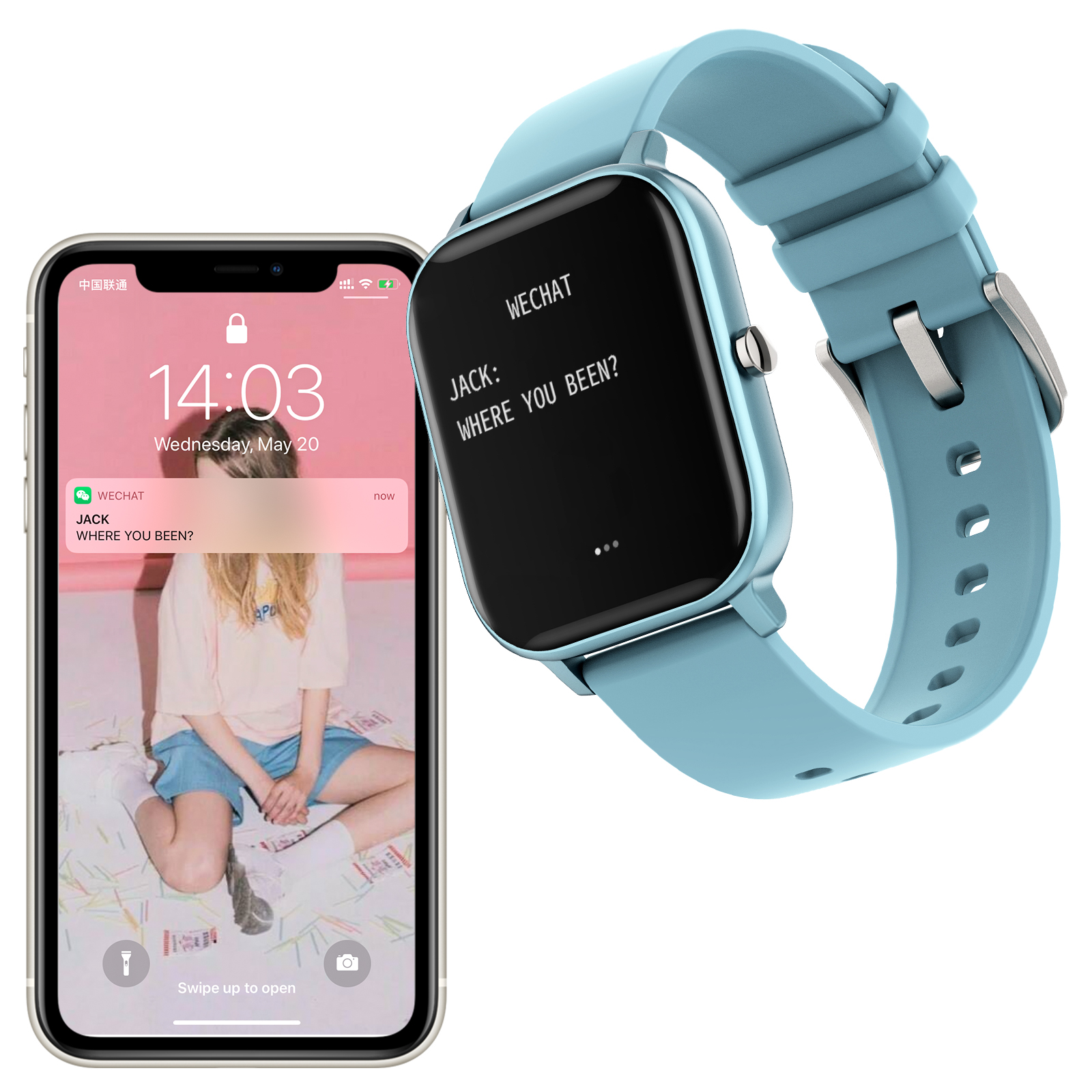 COLMI P8 Pro Smart Watch with Heart Rate Monitor 8