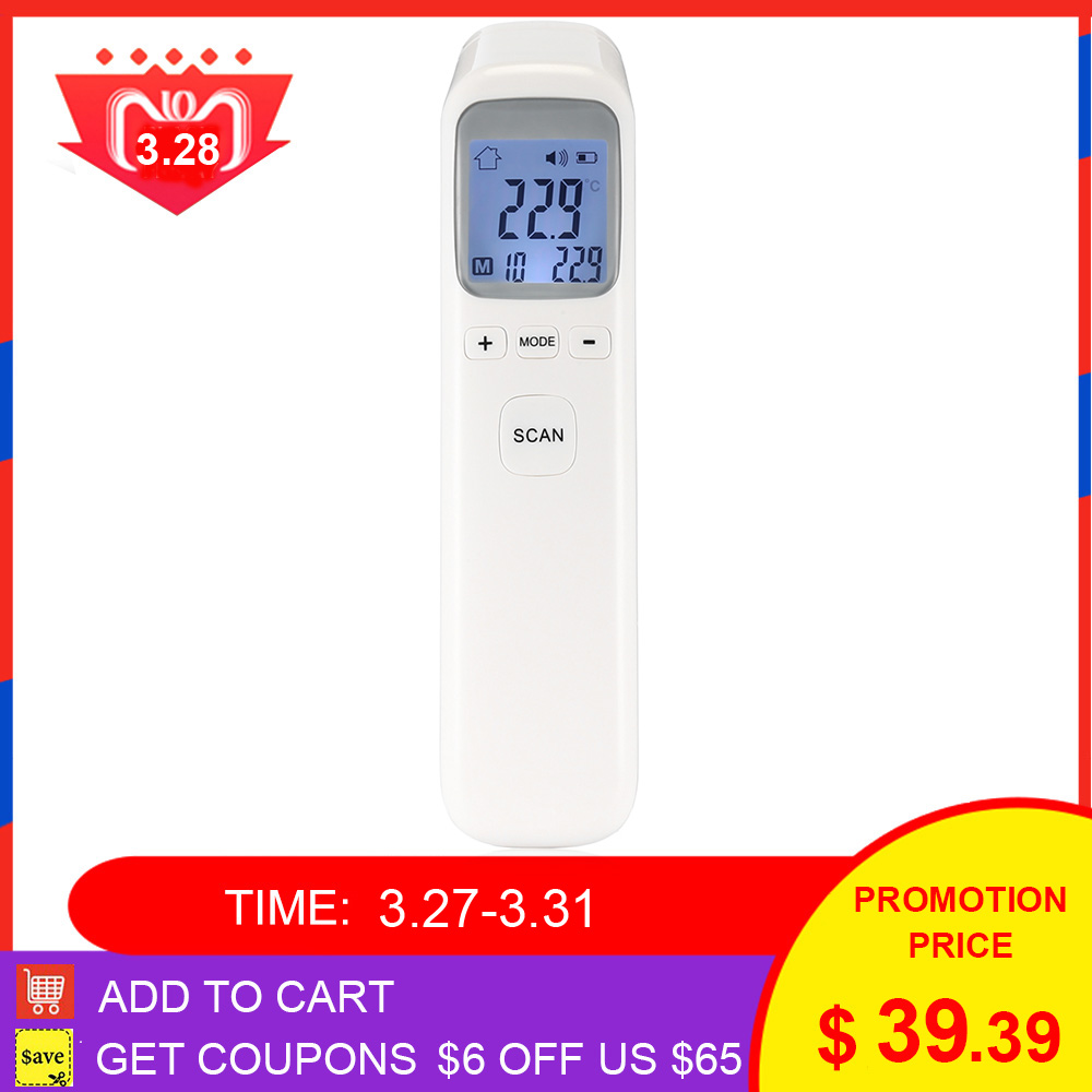 Baby Care Non-Contact Handheld Infrared Digital Thermometer With LCD Display And Fever Alarm Kids Baby Health Care Thermometers