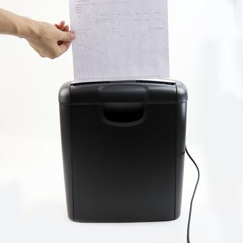 Mini wielofunkcyjny A4 elektryczność niszczarka papieru 2 poziom tajemnicy 6 8mm artykuły gospodarstwa domowego artykuły biurowe tanie i dobre opinie YOAINGO Ścinki 50l 10 arkuszy shred CN (pochodzenie) Karty Zdjęcie Energii elektrycznej 0128 strip 292*142*326