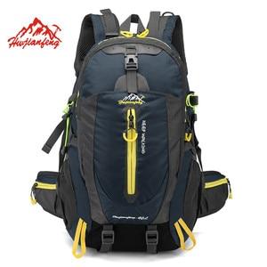 Image 1 - 방수 등산 배낭 배낭 40L 야외 스포츠 가방 여행 배낭 캠핑 하이킹 배낭 여성 트레킹 가방 남성용