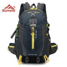 Su geçirmez tırmanma sırt çantası sırt çantası 40L açık spor çanta seyahat sırt çantası kamp yürüyüş sırt çantası kadın Trekking çantası erkekler için