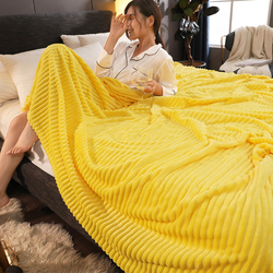 Blankets For Beds Solid Yellow Blue Grey Color Soft Warm Square Flannel Blanket Fleece Blankets And Throws Sofa Cover Bedspread