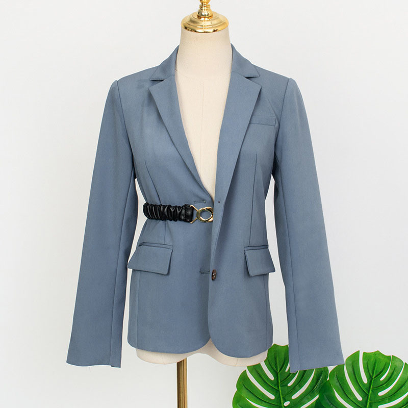 Blazer Women 2020 Fashion Women Blazers And Jackets Lady Office Work Business Suit Autumn Long Sleeve Blazer Feminino 511