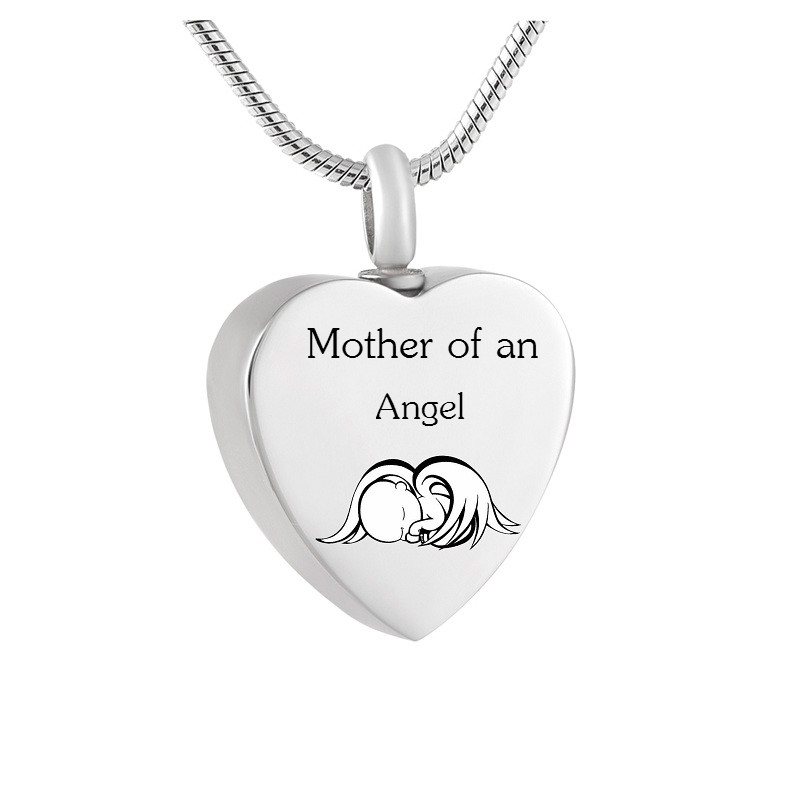 Mommy of an Angel Necklace Infant Child Loss Memorial Pregnancy Miscarriage