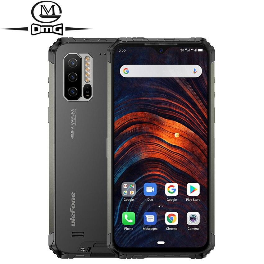 Ulefone Armor 7 8GB 128GB IP68 shockproof Mobile Phone Helio P90 Octa Core Android 9.0 48MP Camera 5500mAh 4G Rugged Smartphone