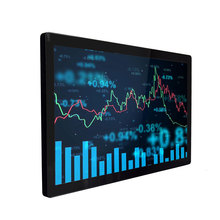 15.6 17.3 18.5 19 Inch Industrial Monitor VGA HDMI USB Capacitive Touch Screen CNC LCD display Monitor display b100jc abhuv 10 inch touch monitor 10 inch touch display hdmi hd resistance touch monitor meal industrial medical touch screen