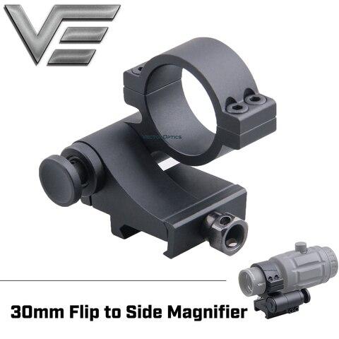 optica do vetor 30mm aleta para lado lupa montagem anel escopo para 3x 4x 5x