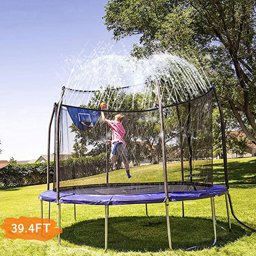 Trampoline Home Children Indoor Trampoline Waterpark Sprinkler Best Outdoor Summer Toys For Kids Water Spray Gun