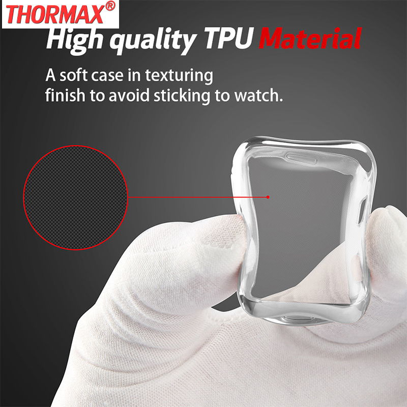 Watch Protect Case Soft TPU Material Silicone Case Cover For Apple Watch Series 3 Series2 iWatch 38 /42mm Watch Accessories