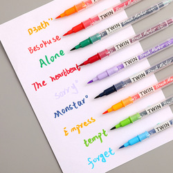 Double Headed Marker 36 Colors Stationery Professional Art Markers Suppliers Office Accessories Presented By Kevin&sasa Crafts