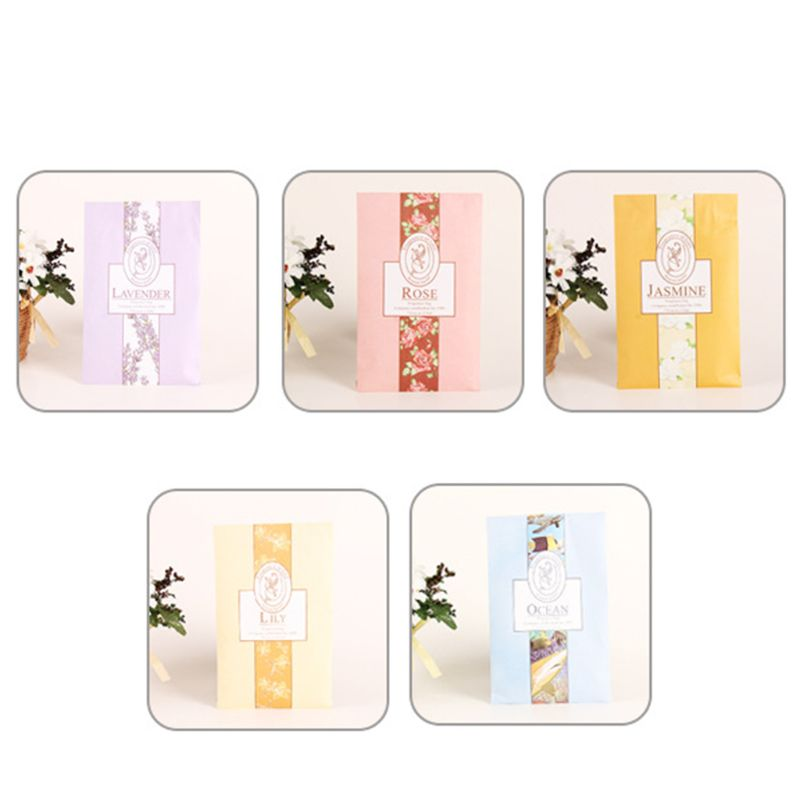 Mini Natural Perfume  Vanilla Sachets Paper Fragrance Bag Scented