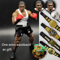 Original 16cm Classic Toy Boxer Fighter Mike Tyson Champion Joints Doll Action Figure Collectible Model Loose Toy Gifts