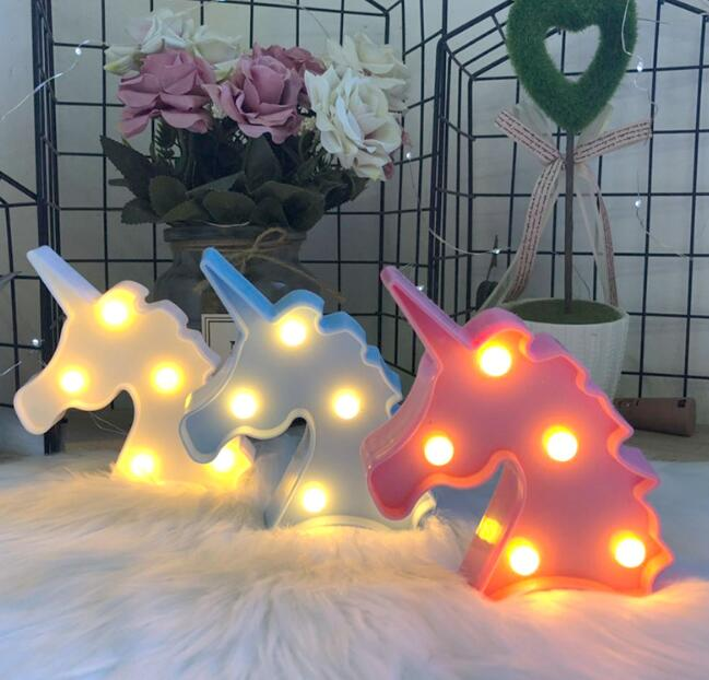 2 Sizes 3D Cactus LED Table Lamp In A Romantic Style Green Lamp Holiday Lighting Night Moon Lights For Decoration For Children's