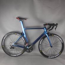 Chameleon color Complete Road Carbon Bike ,Carbon Bike Road Frame with  groupset shi R7000 22 speed Road Bicycle Complete bike