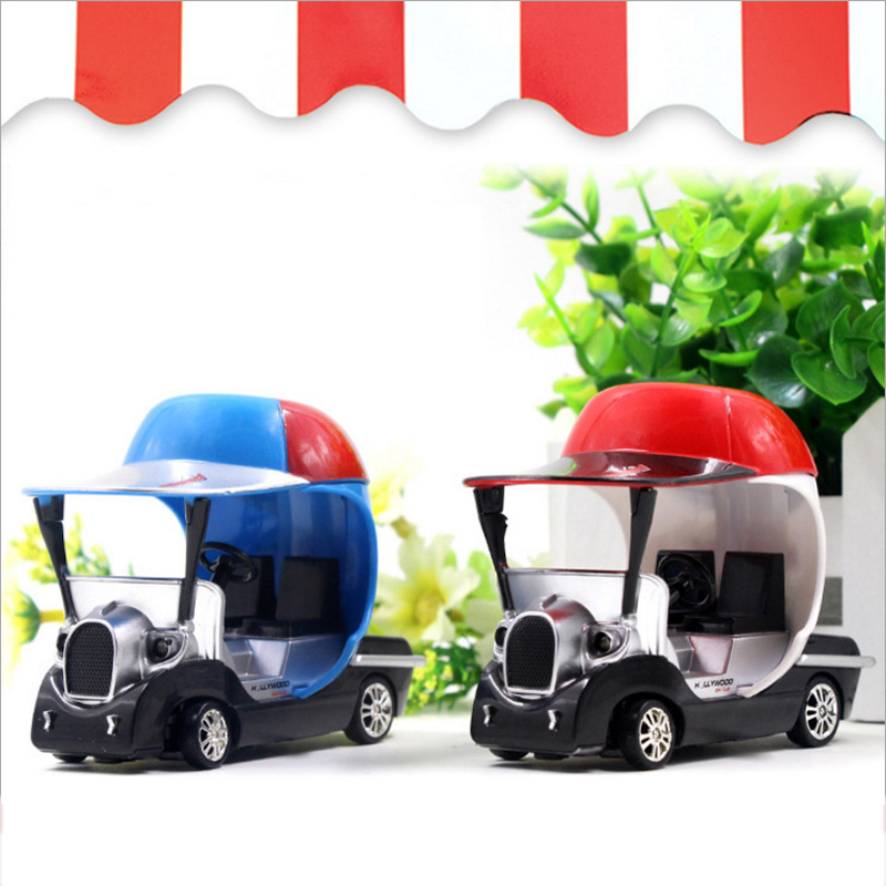 1:43 Scale Model Car Golf Mini Remote Control Toy With Light Micro Racing