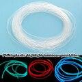 Lange 1M PMMA Seite Leuchten Glasfaser Kabel 1,5mm/2mm/3mm Durchmesser für Auto led-leuchten Helle QJS Shop