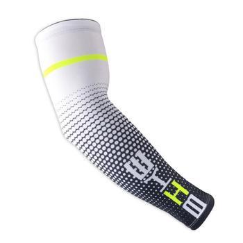 1 pçs braço de basquete manga armguards uv secagem rápida protectin correndo cotovelo braço suporte aquecedores fitness cotovelo almofada ciclismo braço conjunto 1