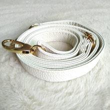 Poignée de sac en cuir PU pour femmes, couleur unie, sangle de 130cm, boucle en métal, accessoires pour sacs à bandoulière, ceinture, offre spéciale