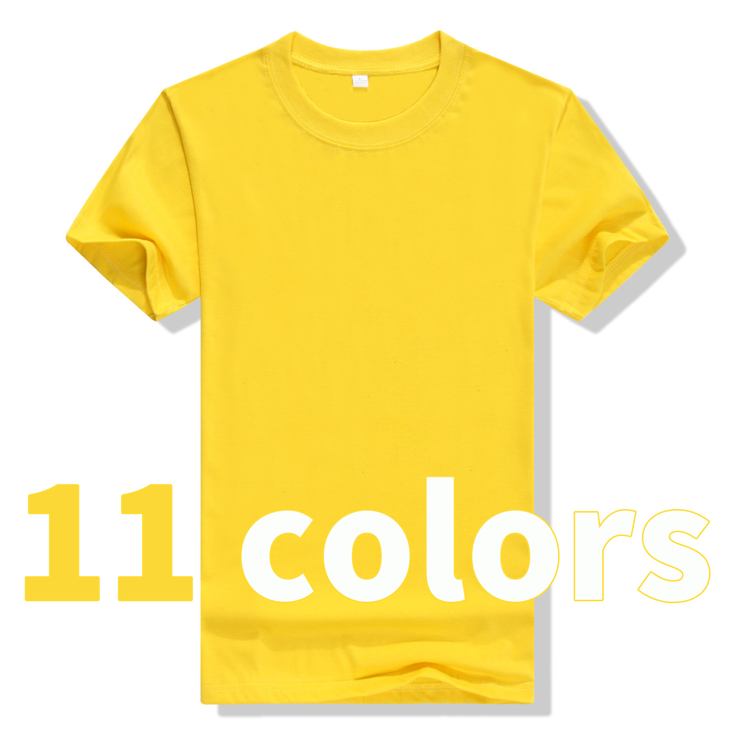 2019 New Solid Color T Shirt Mens Black And Yellow T-shirts Summer Skateboard Tee Boy Skate Tshirt Tops 301 S-8